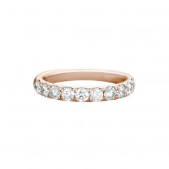 Lisette 18k Rose Gold .50 Diamond Band