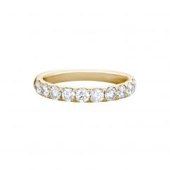 Lisette 18k Yellow Gold .50 Diamond Band