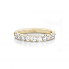Lisette 18k Yellow Gold 1.00 Diamond Band