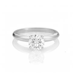 The Hamilton Select 1 Carat I-J/SI Diamond Engagement Ring GIA Certified