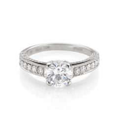 Hamilton Harmony Diamond Engagement Ring
