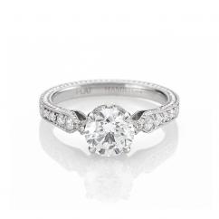 Heritage Platinum 1.51 carat Diamond Engagement Ring