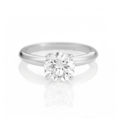 The Hamilton Select 2.00 Carat I-J/SI Diamond Engagement Ring GIA Certified