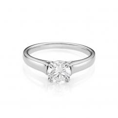 Hamilton Cherish Solitaire 18k Gold .50CT Diamond Ring