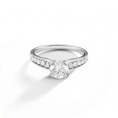 Hamilton Cherish Micro Prong and .50CT Diamond Ring