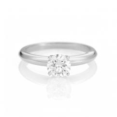 The Hamilton Select .75 Carat I-J/SI Diamond Engagement Ring GIA Certified