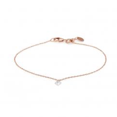 Darling 18k Rose Gold and Diamond Bracelet