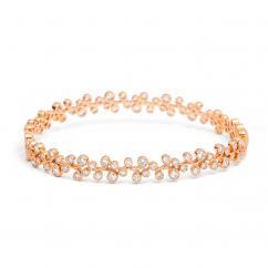 Heritage 18k Rose Gold and 1.10TW Bangle Bracelet