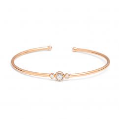Boundless 18k Gold and Diamond Bracelet