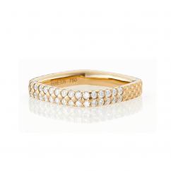 Mercer 18k Yellow Gold and Diamond Ring