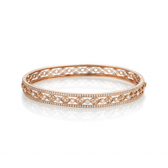 Heritage Diamond and 18k Rose Gold Bracelet