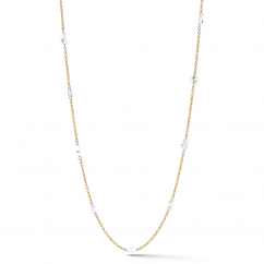 Darling 18k Yellow Gold and 1.97 ct Diamond Necklace