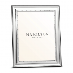 Hamilton Sterling Silver Palmer 5 x 7 Frame