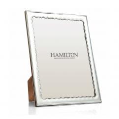 Hamilton Sterling Silver Drift 8 x 10 Frame
