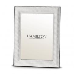 Hamilton Sterling Silver Cleo 4x6 Frame