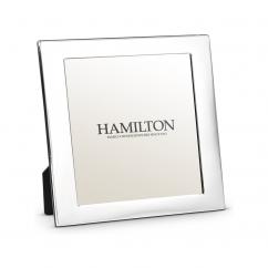 Hamilton Sterling Silver 5 x5 Wedding Proof Photo Frame