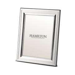 Hamilton Sterling Silver Hampton 4x6 Frame