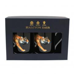 Halcyon Days Tiger Mug Set