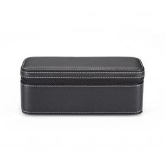 Hamilton 2-Piece Leather Watch Travel Case
