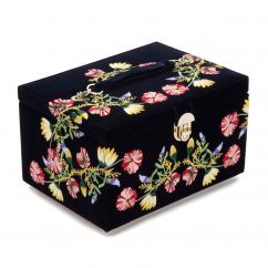 Wolf Designs Zoe Indigo Jewelry Box