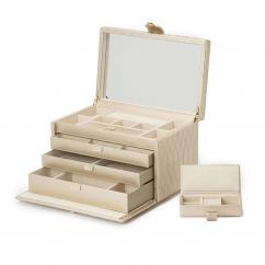 Wolf Design Caroline Jewelry Box