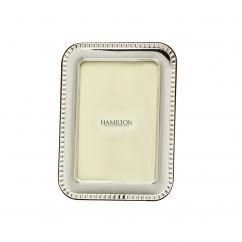 Hamilton Sterling Silver Worth 4x6 Frame