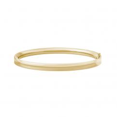 14k Gold Child's Bangle Bracelet