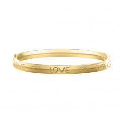 Children's Live, Love, Sparkle Bangle Bracelet
