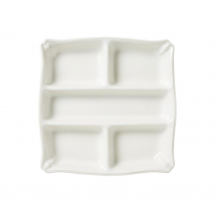 Juliska Berry and Thread Whitewash Appetizer Platter