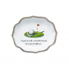 Mottahedeh In Golf Lobe Tray