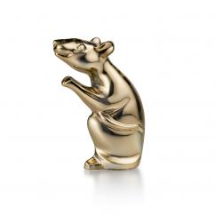 Baccarat Zodiac Mouse 2020 Gold Metallic
