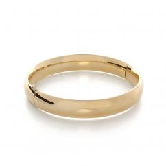 Classic 14k Yellow Gold Bangle Bracelet