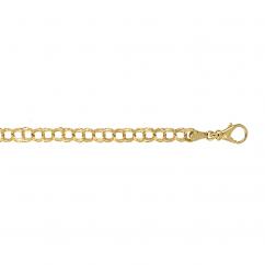 Hamilton Classic 14k Gold Charm Bracelet