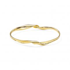 Ippolita 18k Gold Ribbon Bangle