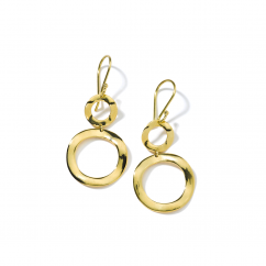 Ippolita 18k Yellow Gold Snowman Earrings
