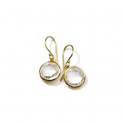Ippolita 18k Gold and Quartz Earrings