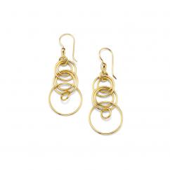Ippolita 18k Yellow Gold Glamazon Earrings