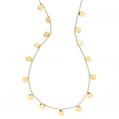 Ippolita 18k Gold Pailette Necklace