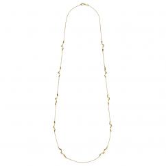 Ippolita Twisted Ribbon 18k Gold Necklace