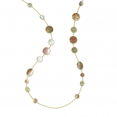Ippolita Polished Rock Candy 18k Gold Crazy 8's Necklace