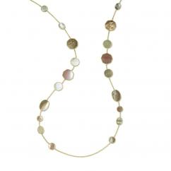 Ippolita Polished Rock Candy Dahlia 18k Yellow Gold Necklace
