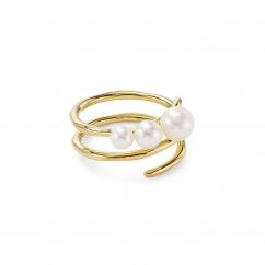 Ippolita Nova 18k Gold and Pearl Ring