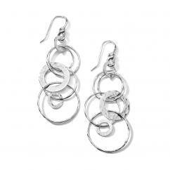 Ippolita Jet Set Sterling Silver Earrings
