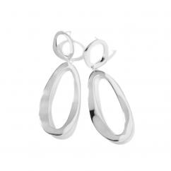 Ippolita Classico Sterling Silver Snowman Earrings