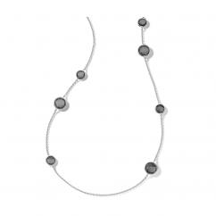 Ippolita Sterling Silver Wonderland Mix Stone Station Necklace