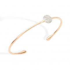 Pomellato Sabbia 18k Gold and Diamond Bracelet