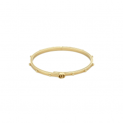 Gucci 18k Yellow Gold GG Running Bracelet