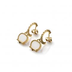 Chantecler Anima 70 Kogolong Hoop Earrings, Exclusively at Hamilton Jewelers