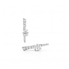 Jade Trau 18k Gold Rae Diamond Stud Earrings