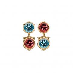 Gucci Le Marché des Merveilles and Gemstone Earrings